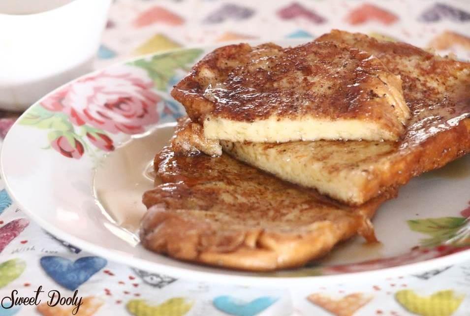 לחם מטוגן מתכון לפרנץ' טוסט מהיר הכנה וטעים