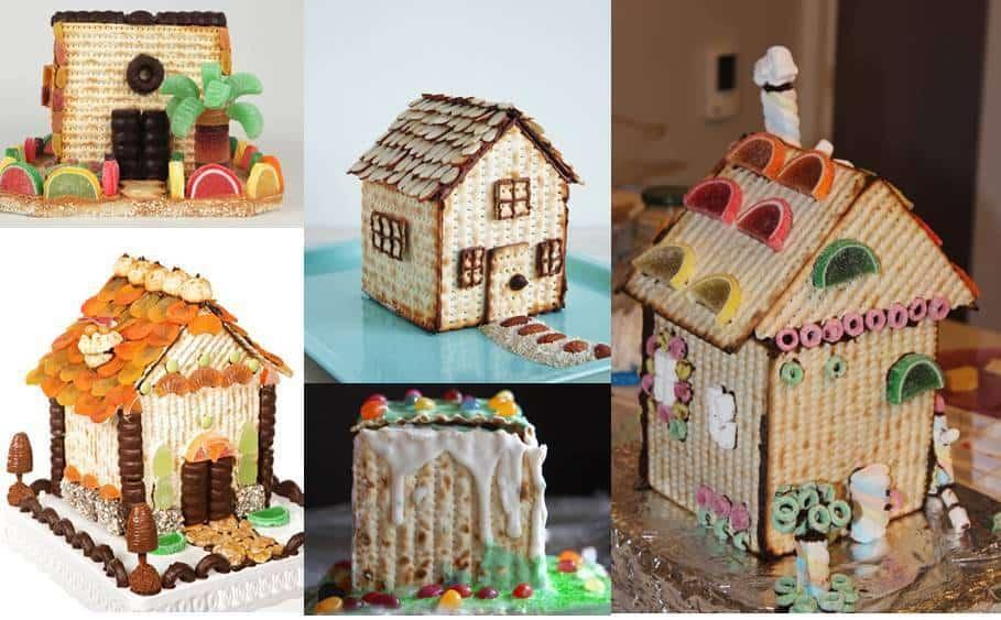 בתים עשויים ממצות לפסח