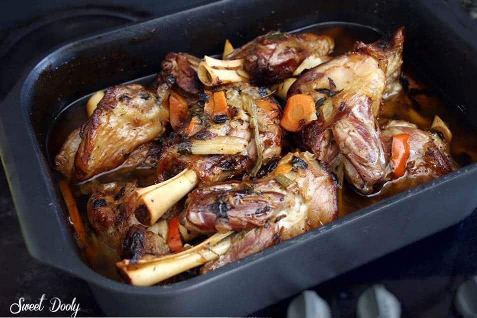 מתכון לאוסובוקו טלה בתנור עם ירקות