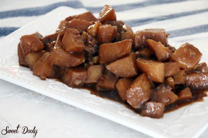 מתכון לתפוחי אדמה מבושלים ברוטב חום המתכון הכי טעים