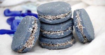 מתכון לעוגיות אלפחורס בצבעי כחול לבן