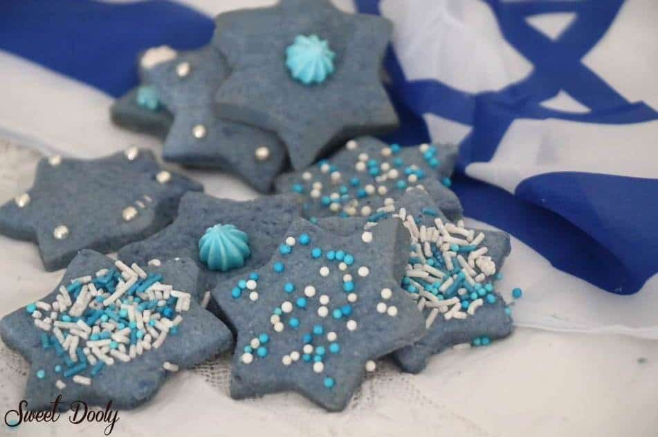 מתכון לעוגיות בצבעי כחול לבן ליום העצמאות