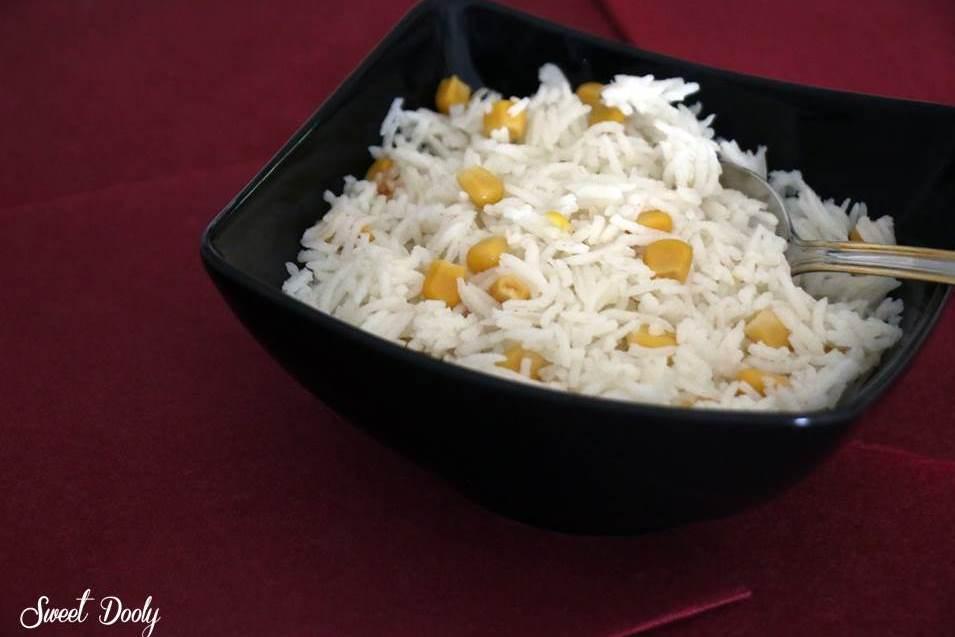 מתכון לאורז לבן מבושל עם תירס