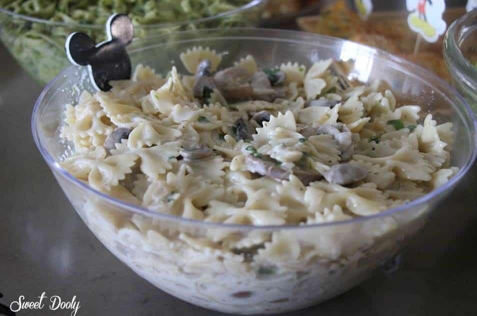 פסטה ברוטב שמנת ופטריות מתכון חדש לשבועות