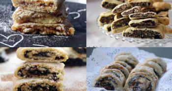 מתכונים לעוגיות מגולגלות עם פרג, ריבה, שוקולד ותמרים
