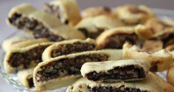 עוגיות מגולגלות בצק פריך ושוקולד שנמסות בפה