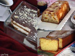 שלושה מתכונים לעוגה לשבת מתכונים קלים ומהירים לעוגות