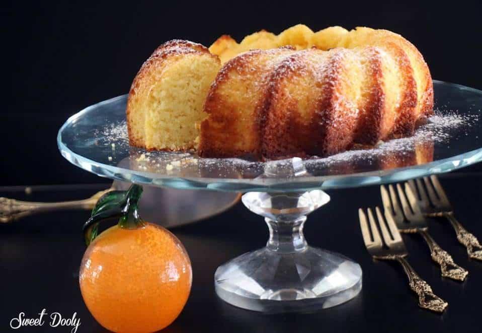 עעוגת תפוזים וקוקוס עוגה בחושה עסיסית רכה מושלמת!