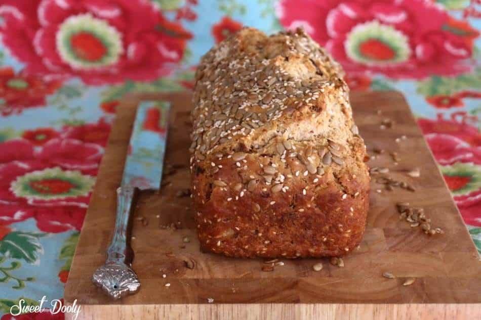 מתכון לחם בירה מהיר הכנה קל נהדר וטבעוני