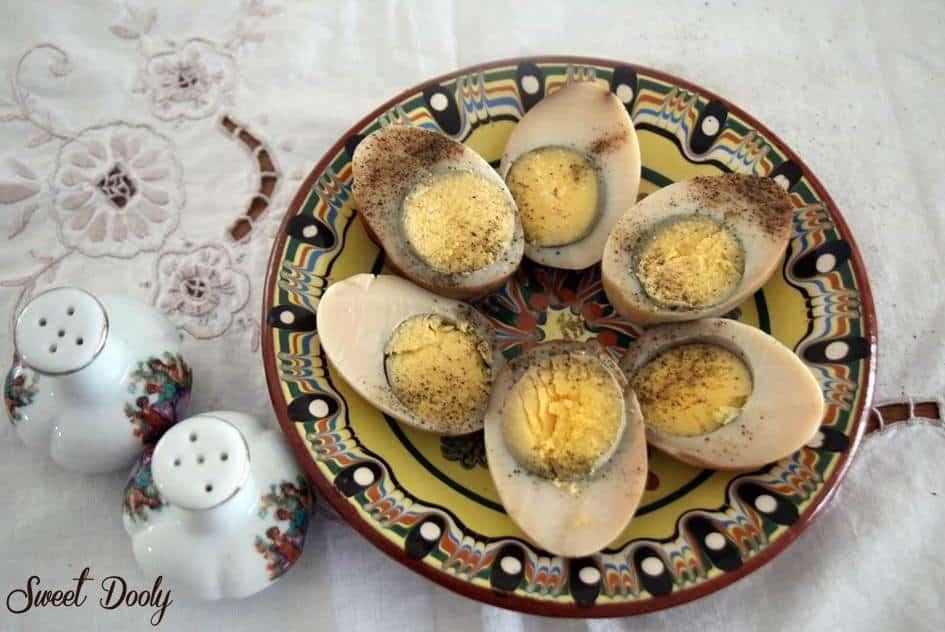 איך מכינים ביצים קשות חומות, חמינדוס