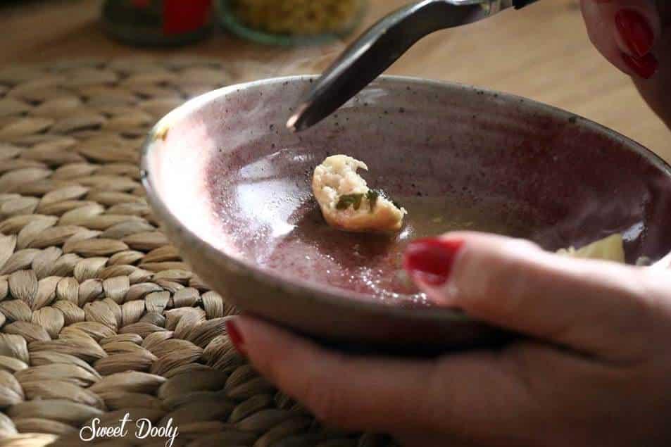 מרק ירקות עשיר עם קציצות עוף רכות ונפלאות