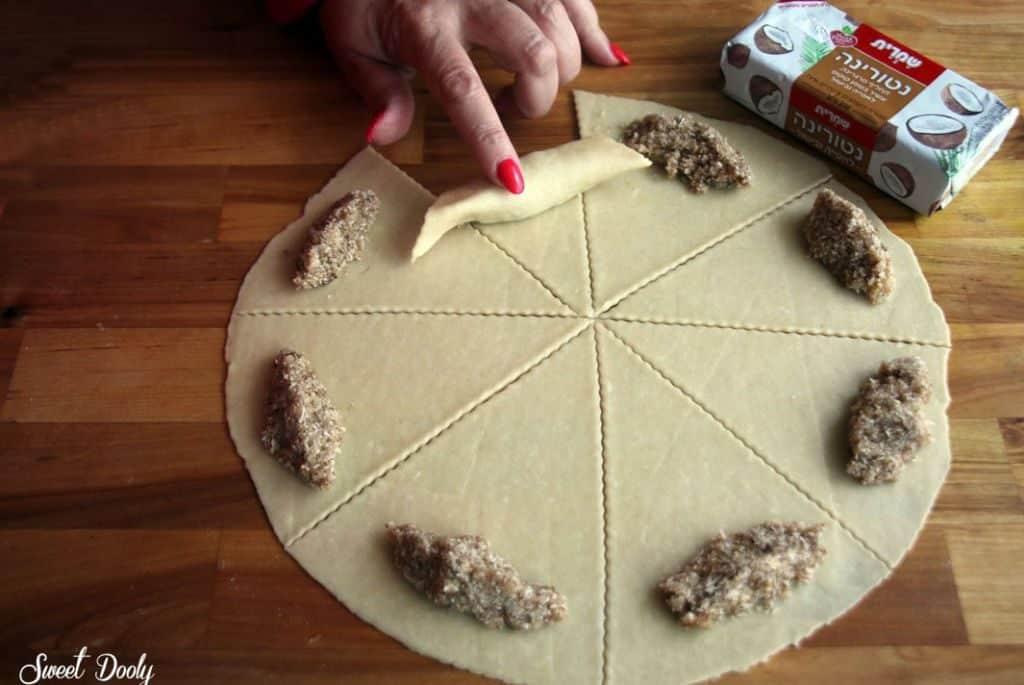 עוגיות מגולגלות גיאורגיות פרווה