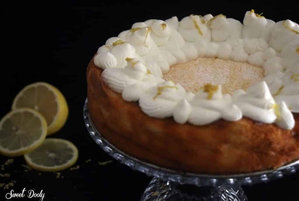 עוגת גבינה לימונית ללא גלוטן