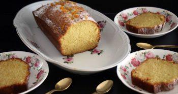 עוגת מנדרינות בחושה פרווה