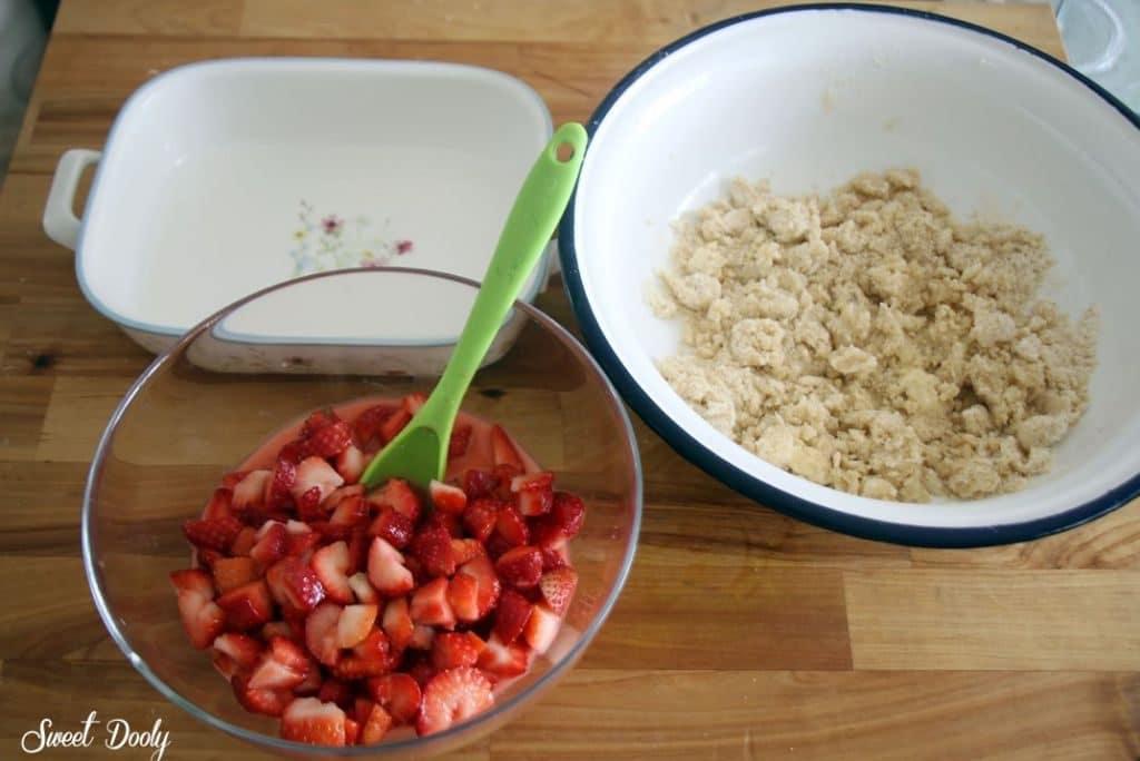 מתכון לקראמבל תותים משגע