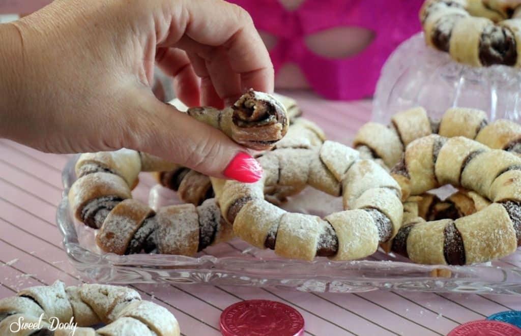 עוגיות ממולאות בשוקולד פרווה