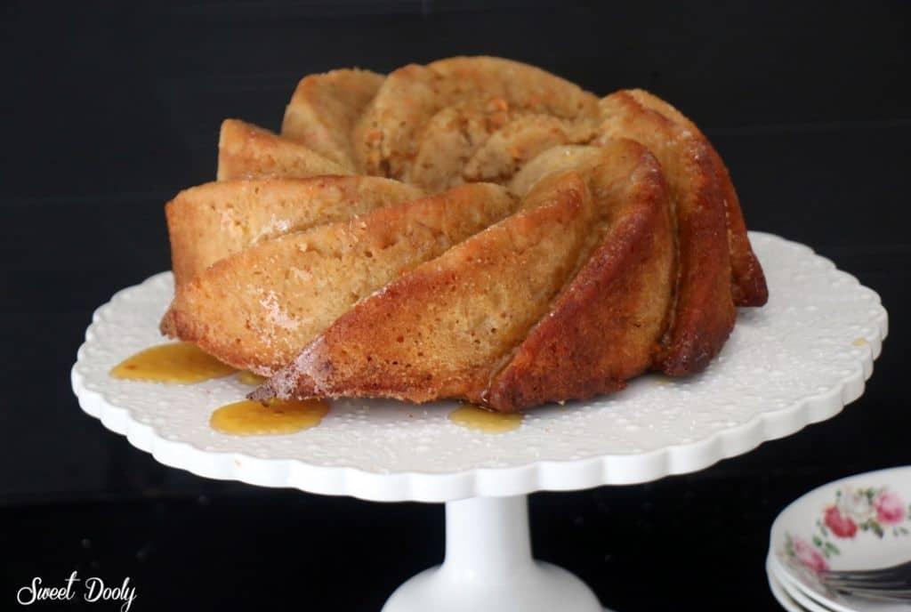 עוגת גזר מייפל פרווה