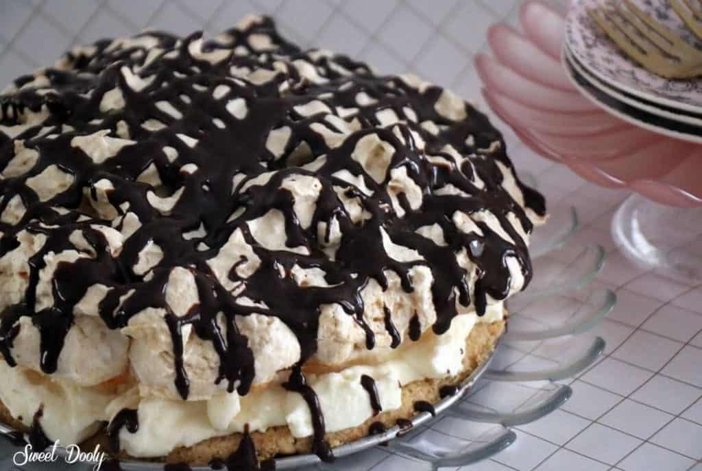 עוגה לפסח קצף קצפת