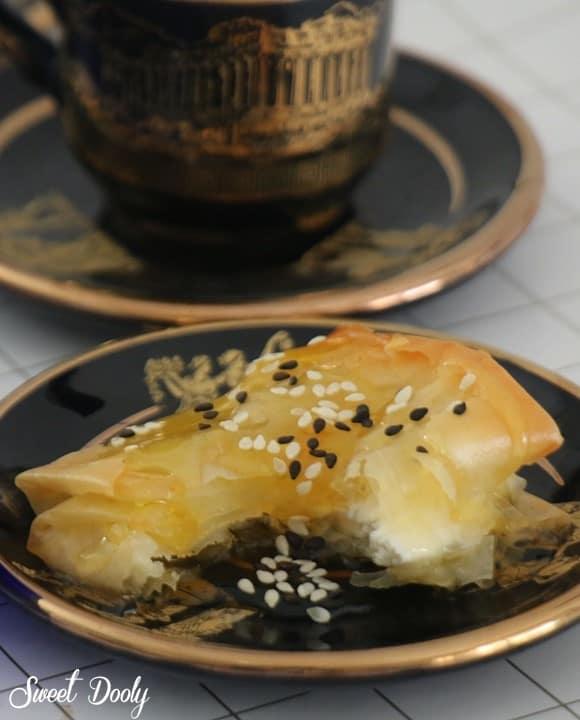 פילו עם גבינה ודבש