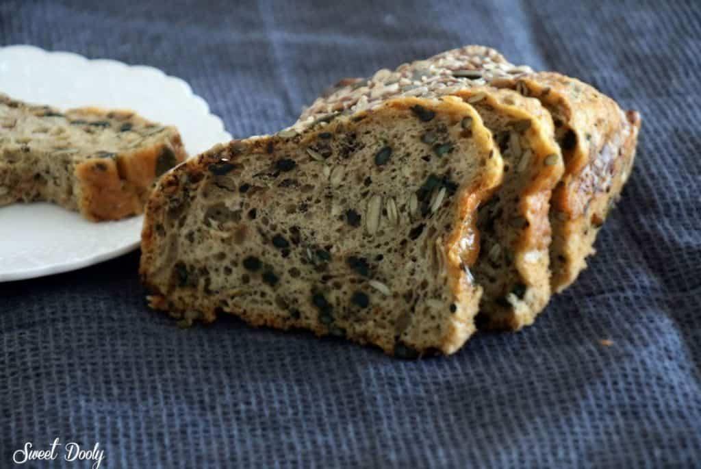 לחם טחינה ללא גלוטן
