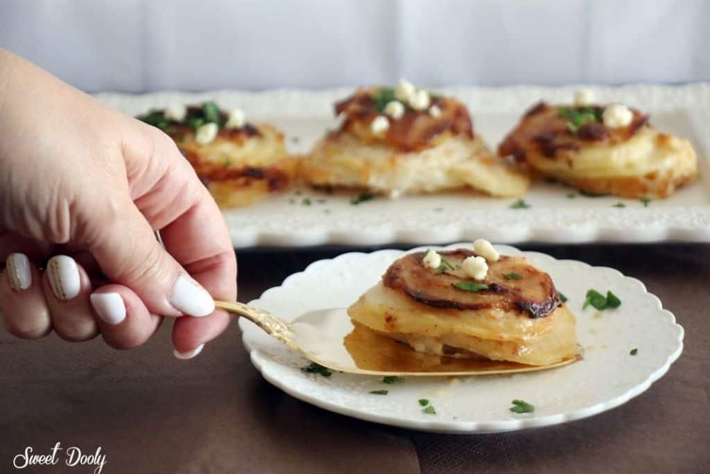 תפוחי אדמה ברוטב בשמל