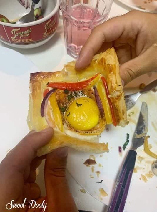 בורקס שקשוקה עם ביצה