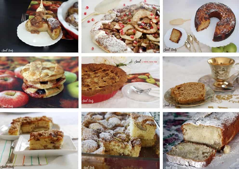עוגות תפוחים לראש השנה 2019