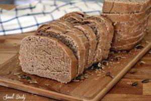 לחם כוסמין מקמח מלא