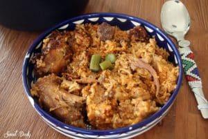 טבית חמין אורז ועוף עירקי
