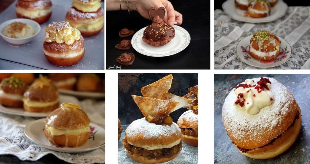 סופגניות בטעמי עוגות אהובות