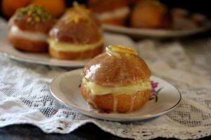 סופגניה בטעם עוגת תפוזים