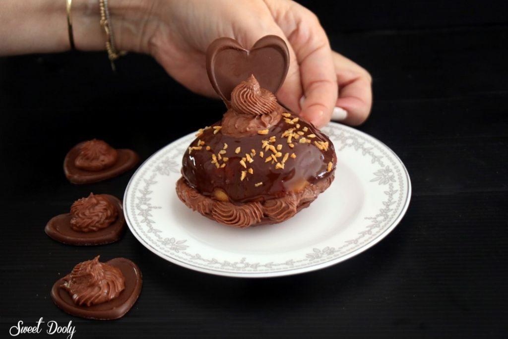 מתכון לסופגניות עם שוקולד