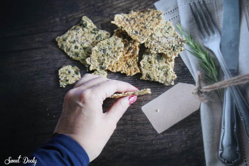 קרקרים בריאים ללא גלוטן