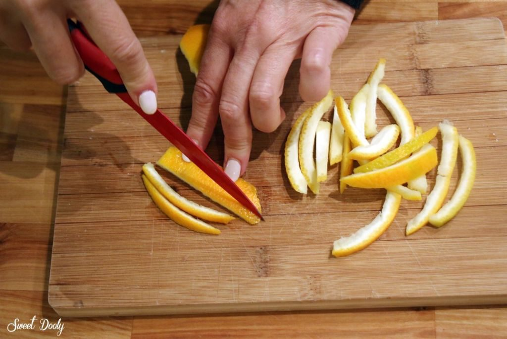 קליפות תפוזים מסוכרות ממכרות
