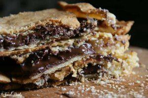 בצק פריך שוקולד ומרשמלו העוגיות