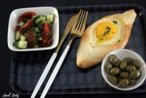 חצ'פורי עם גבינות מהיר הכנה