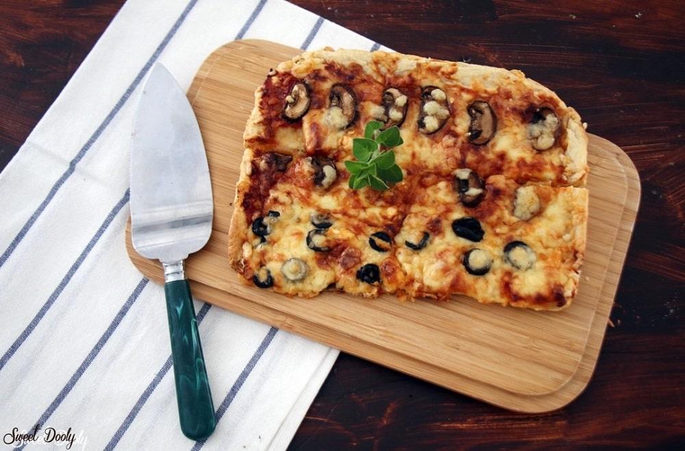 מתכון לפיצה מהירה ללא התפחה