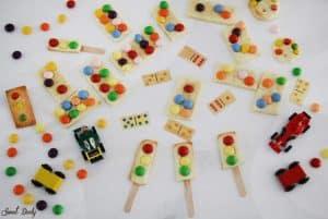 עוגיות דומינו ועוגיות רמזור קלות הכנה