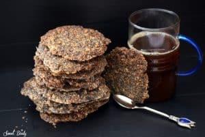 עוגיות שיבולת שועל ופרג פרווה