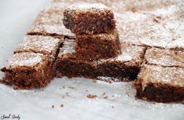 בראוניז שוקולד כשר לפסח פרווה