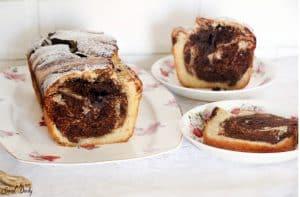 עוגת שוקולד פרווה עם שוקולד מריר