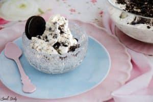 גלידת אוראו שמכינים בבית