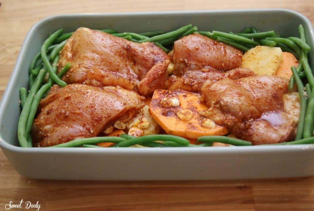 פרגיות עם תפוחי אדמה בתנור