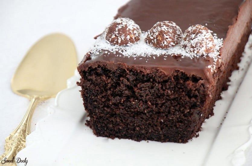 עוגת שוקולד וקוקוס כשרה לפסח