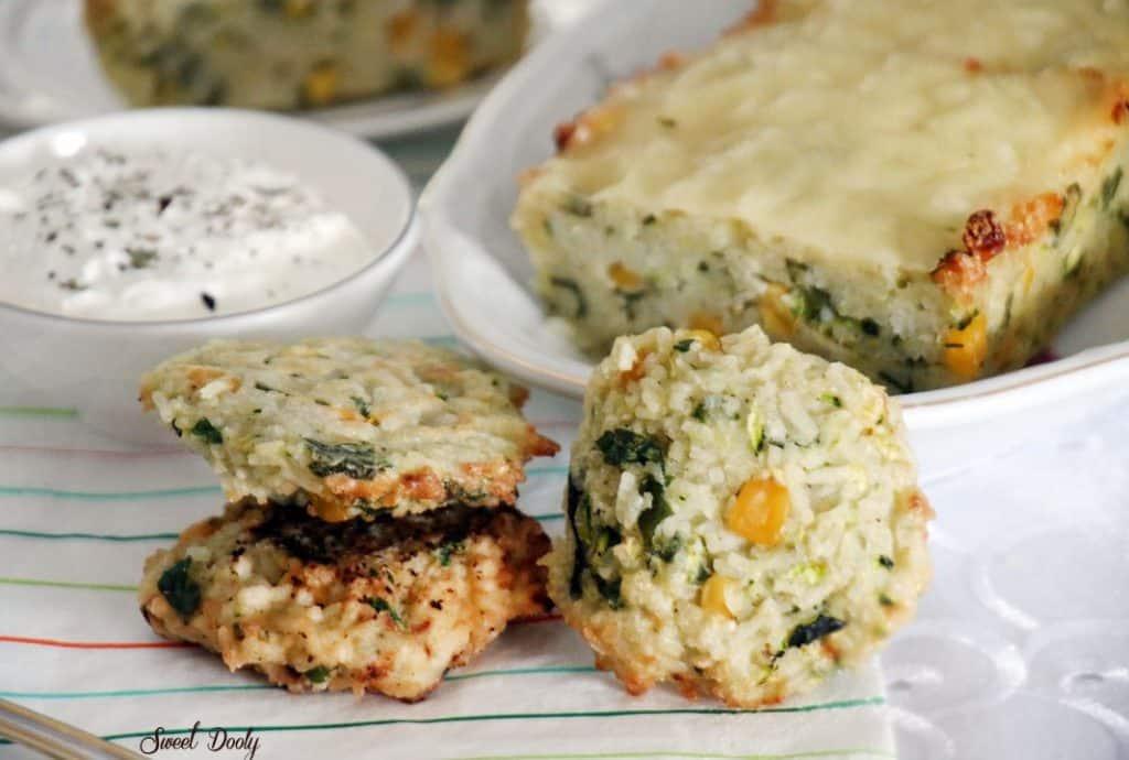 פשטידת אורז עם ירקות