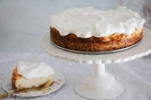 עוגת שמנת חמוצה ב4 מרכיבים בלבד