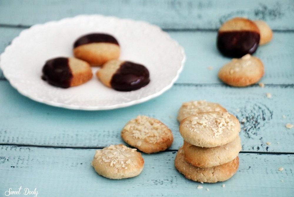 עוגיות שקדים וטחינה טבעוניות