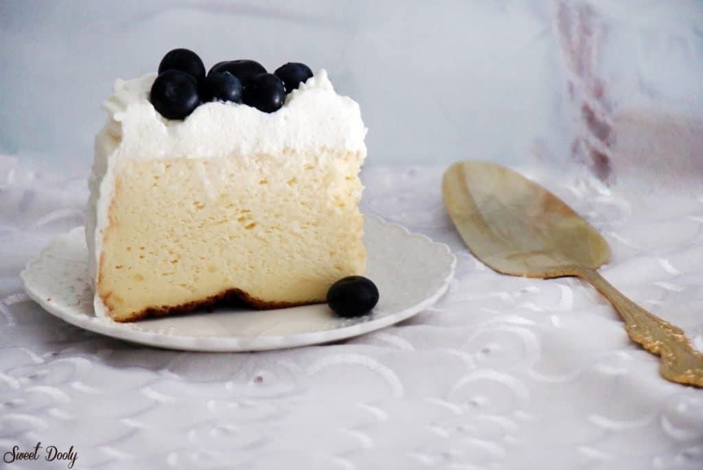 עוגת גבינה אפויה עננים