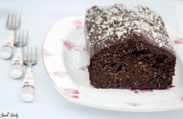 עוגת שוקולד וקוקוס פרווה מקמח כוסמין