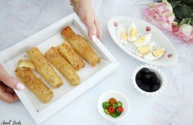 בורקס פילו במילוי גבינה
